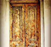 Door to the Coach House Hotel by Karen Tregoning