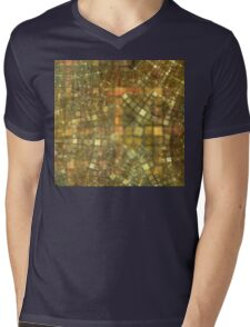 Street Map Mens V-Neck T-Shirt
