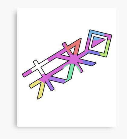 Future Foundation symbol Canvas Print