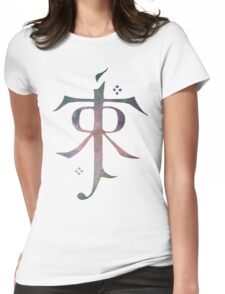 Tolkien galaxy Womens Fitted T-Shirt