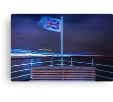 View from the Mersey Ferry Canvas Print