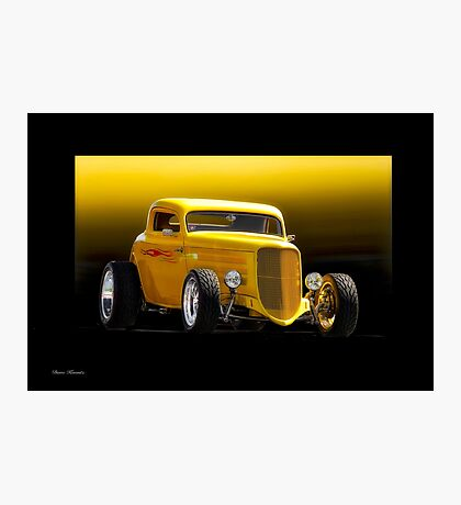 1934 Ford 'Chop Top' Coupe Photographic Print