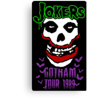 Jokers Canvas Print