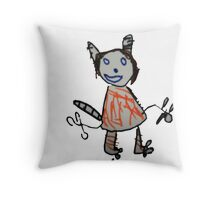 - The Beast - Throw Pillow