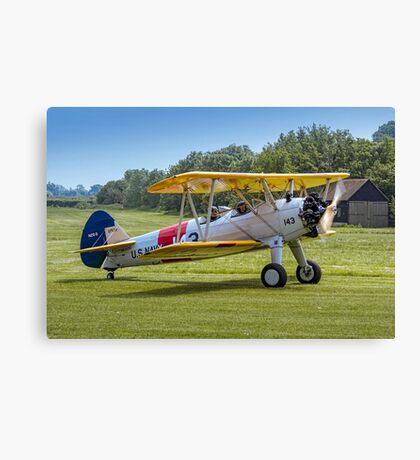 Boeing Stearman N2S-3 07539/143 N63590  Canvas Print
