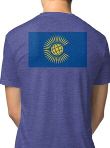 Commonwealth Flag, Flag of the Commonwealth of Nations, as adopted in 2013 Tri-blend T-Shirt