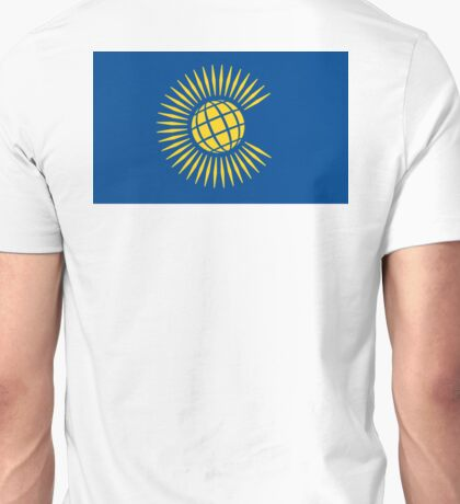 Commonwealth Flag, Flag of the Commonwealth of Nations, as adopted in 2013 Unisex T-Shirt