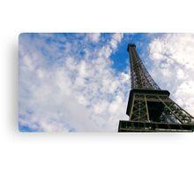 The clouds above - Paris Canvas Print