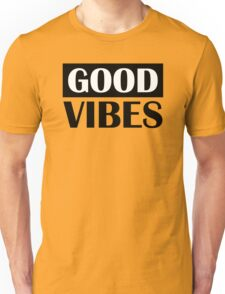Good Vibes Music Base Deep Beat Unisex T-Shirt