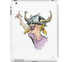 V is for Viking! iPad Case/Skin