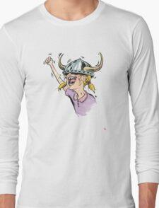 V is for Viking! Long Sleeve T-Shirt