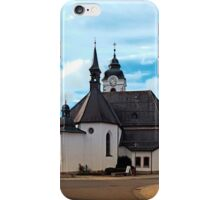 The village church of Vorderweissenbach I | architectural photography iPhone Case/Skin