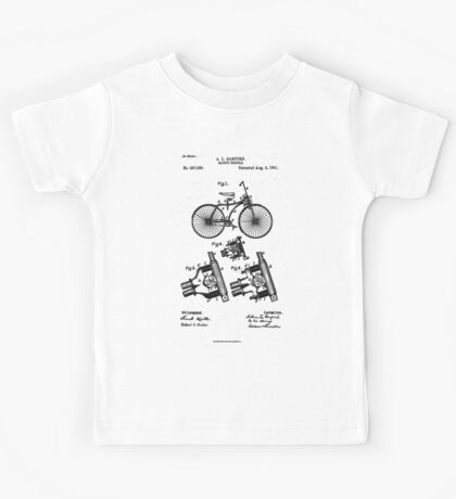 Safety Bicycle - Patent Kids Tee