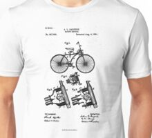 Safety Bicycle - Patent Unisex T-Shirt
