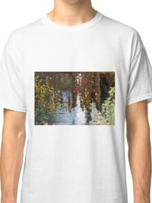 water reflection on river Classic T-Shirt