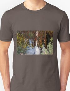 water reflection on river Unisex T-Shirt
