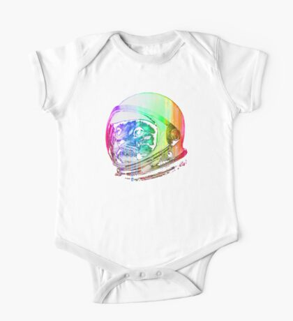 Astronaut Space Cat (digital rainbow version) One Piece - Short Sleeve