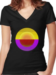 Bali Women's Fitted V-Neck T-Shirt