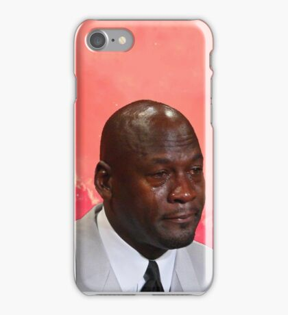 C(rying Jordan)hance The Rapper iPhone Case/Skin