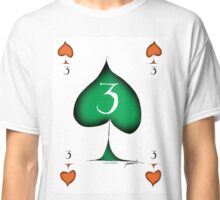 Lucky No.3 of Spades by Tony Fernandes Classic T-Shirt