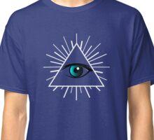 Illuminati Triangle Symbol T-shirt Eye of Providence Tshirt Classic T-Shirt