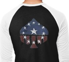 Courier's Old World Glory -Aces- Men's Baseball ¾ T-Shirt