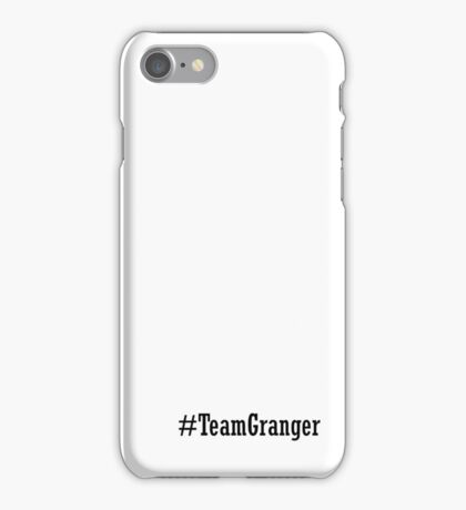 Team Granger iPhone Case/Skin