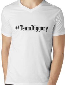 Team Diggory Mens V-Neck T-Shirt