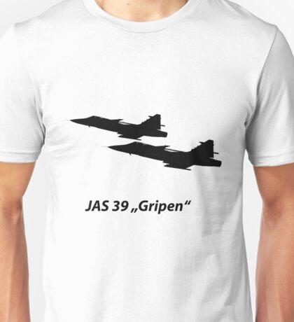 "JAS 39 ""Gripen"" Unisex T-Shirt"