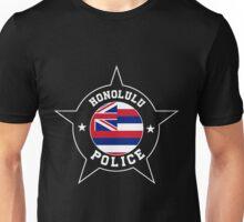 Honolulu Police T Shirt - Hawaii flag Unisex T-Shirt