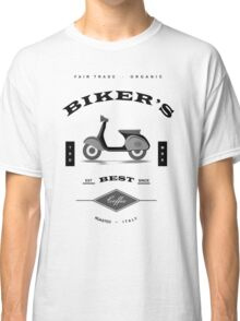 Bikers Best Coffee Espresso with Vespa Classic T-Shirt