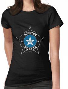 Houston Police T Shirt - Houston Flag Womens Fitted T-Shirt