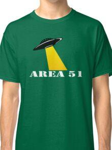 Cool Alien Hello T-shirt Emoticon Martian UFO Smile Tshirt Classic T-Shirt