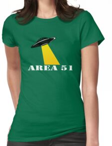 Cool Alien Hello T-shirt Emoticon Martian UFO Smile Tshirt Womens Fitted T-Shirt