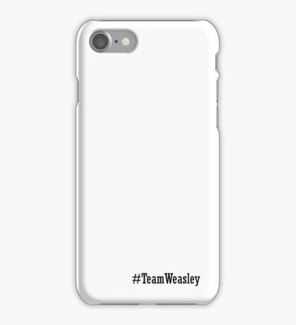 Team Weasley iPhone Case/Skin