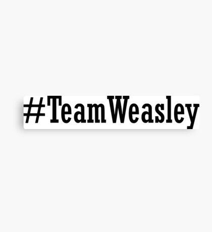 Team Weasley Canvas Print