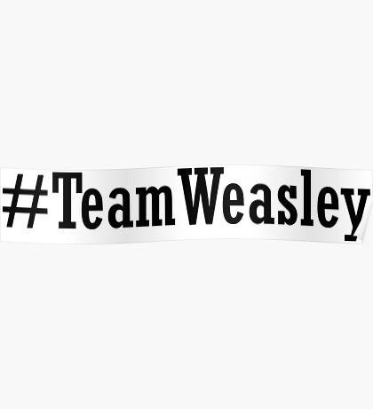 Team Weasley Poster