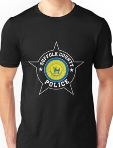 Suffolk County Police T Shirt -  Suffolk County flag Unisex T-Shirt