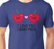 Pixelated Cherry Love Unisex T-Shirt