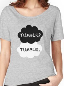 Tumblr/TFIOS Women's Relaxed Fit T-Shirt