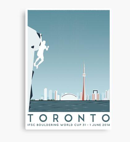 IFSC Bouldering World Cup - Toronto Canvas Print