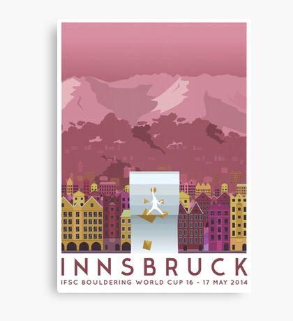IFSC Bouldering World Cup - Innsbruck Canvas Print