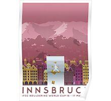 IFSC Bouldering World Cup - Innsbruck Poster