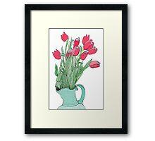 Springtime Tulips * Framed Print