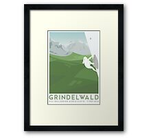 IFSC Bouldering World Cup - Grindelwald Framed Print