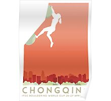 IFSC Bouldering World Cup - Chongqing Poster