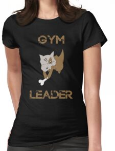 Cubone Gym Leader Womens Fitted T-Shirt