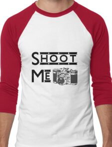 Shoot Me Men's Baseball ¾ T-Shirt