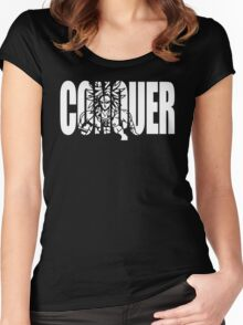 CONQUER - Broly Iconic Women's Fitted Scoop T-Shirt