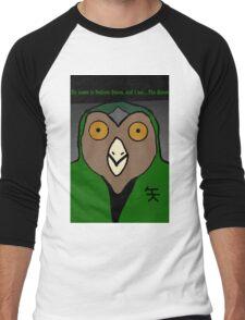 Owliver Queen- DC/Pokémon Men's Baseball ¾ T-Shirt